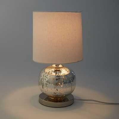 Mini Abacus Table Lamp - Mercury - West Elm
