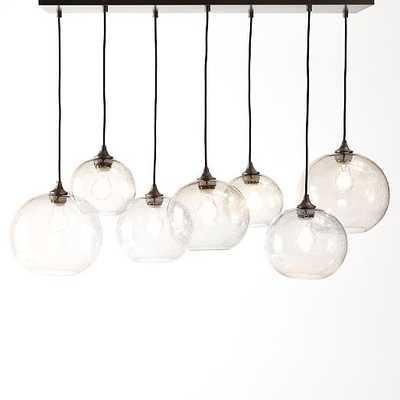 Glass Orb Chandelier - Luster - West Elm