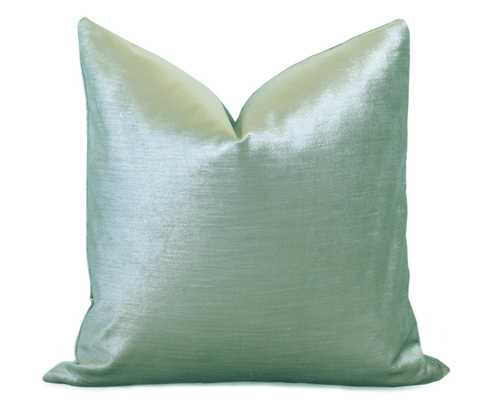 "Glisten Velvet Pillow Cover, 18"" - insert not included - Willa Skye"