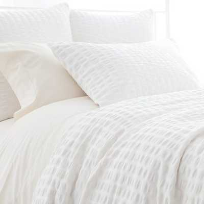 PARKER WHITE DUVET COVER - King - Pine Cone Hill