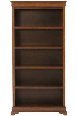 """LOUIS PHILIPPE 36""""W BOOKCASE - Sequoia - Home Decorators"""