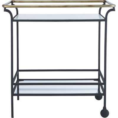 Cavalier bar cart - CB2