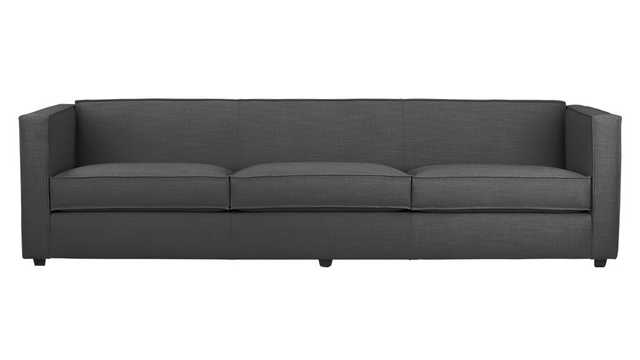 Club 3-seater sofa - tess carbon - CB2