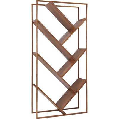 V Bookcase - Room Divider - CB2