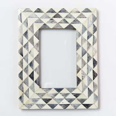 Bone-Inlaid Frames - Triangles - West Elm