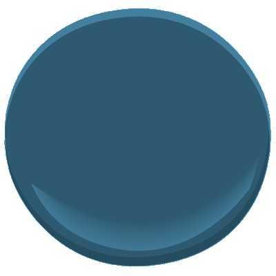 Benjamin Moore ben - blue danube (sample) - Benjamin Moore