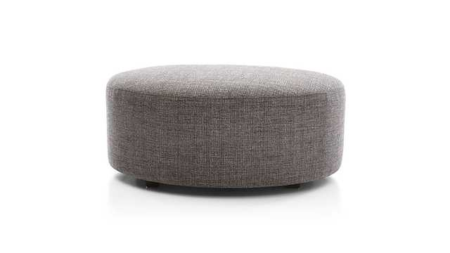 Sydney Cocktail Ottoman - Crate and Barrel