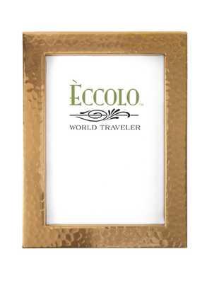 Copper Frame Box Hammered 4 x 6 - Alma Decor
