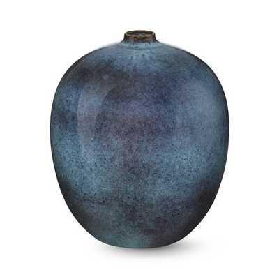 Indigo Reactive Glaze Vase - Small - Williams Sonoma Home