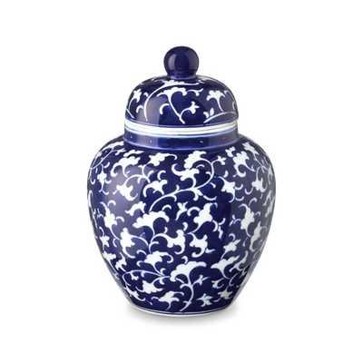 Petite Temple Jar, Vine Motif - Williams Sonoma