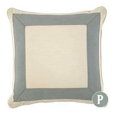 Bordered Outdoor Pillows - With Insert - Ballard Designs