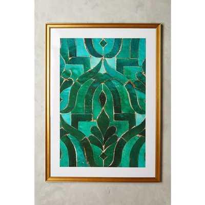 Lika Ramati for Artfully Walls | Anthropologie Moroccan Tile Wall Art [REGULAR] - Anthropologie