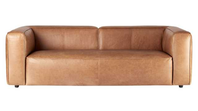 Lenyx leather sofa - CB2
