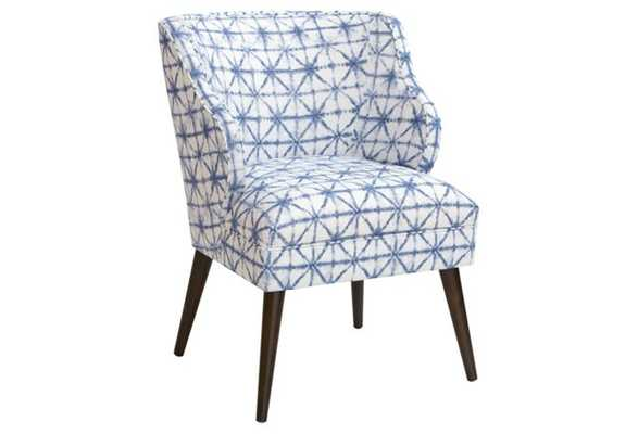 Kira Chair, Azure - One Kings Lane