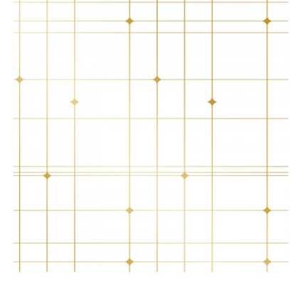 CORNELL GRAPH REMOVEABLE WALLPAPER - GOLD - Lulu and Georgia
