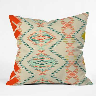 """MARKER SOUTHWEST Pillow - 18""""x18"""" - Insert included - Wander Print Co."""