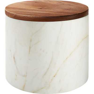 ishi marble medium canister - CB2