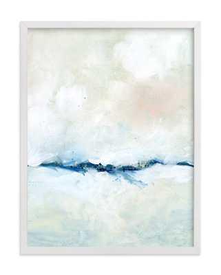 "Solstice - 18"" x 24"" - Framed - White Wood Frame, No Mat - Minted"
