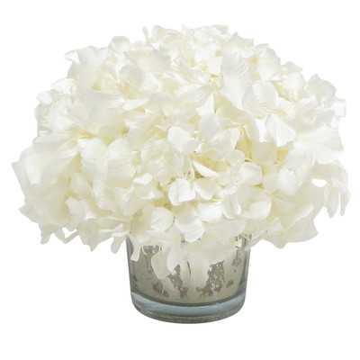 Hydrangea - White - Wayfair