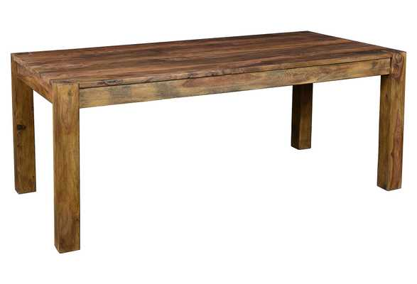 "Amelia 70"" Dining Table, Natural Wood - One Kings Lane"
