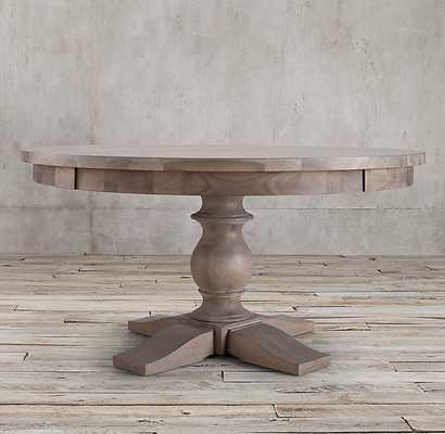 17TH C. MONASTERY ROUND DINING TABLE - RH