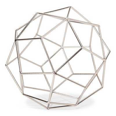 Metal Wire Decorative Figurine Large Silver - Target