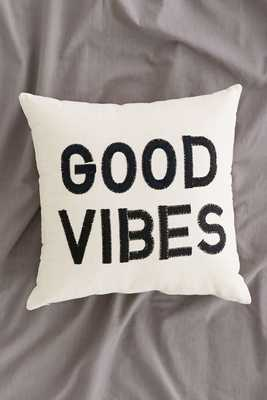 Magical Thinking Good Vibes Pillow - No Insert - Urban Outfitters
