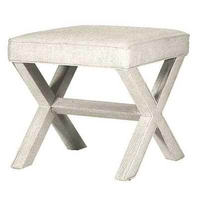 X Bench - Danish Linen Natural - Ballard Designs
