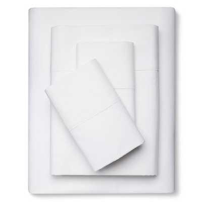 300 Thread Count Organic Cotton Sheet Set Threshold - Target