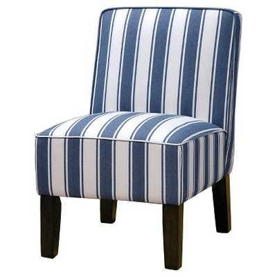 Burke Slipper Chair - Indigo - Target