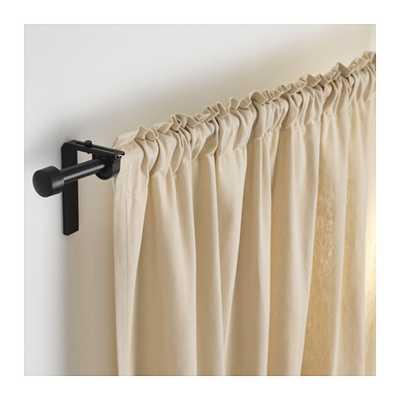 RÄCKA Curtain rod, black - Ikea
