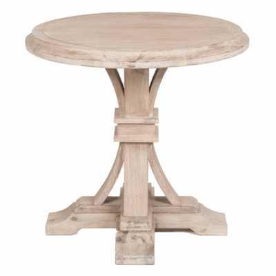 DEVON ROUND ACCENT TABLE - Alder House