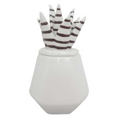 """Sculpted Ceramic Box White - Nate Berkusâ""""¢ - Target"""