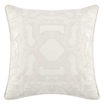 "Modello Pillow 22"" -Ivory- Feather/Down insert - Z Gallerie"