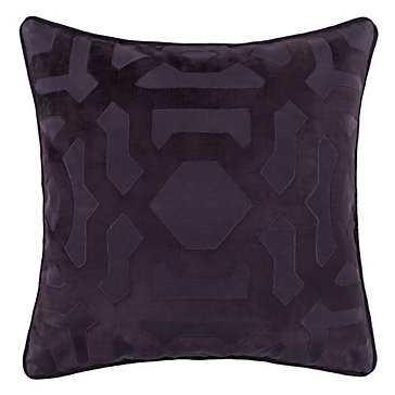 "Modello Pillow 22"", Aubergine - Feather/Down Insert - Z Gallerie"