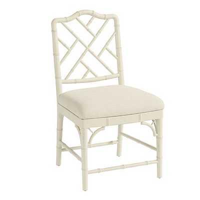 Dayna Side Chairs - Set of 2 - Rubbed Cream - Ballard Designs