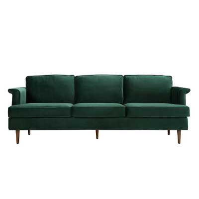 Leia Forest Green Sofa - Maren Home