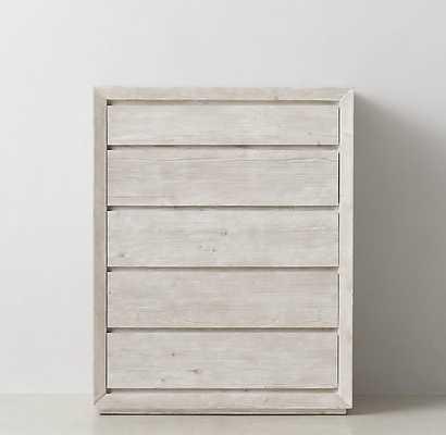 Callum Tall Dresser - Weathered White - RH Teen