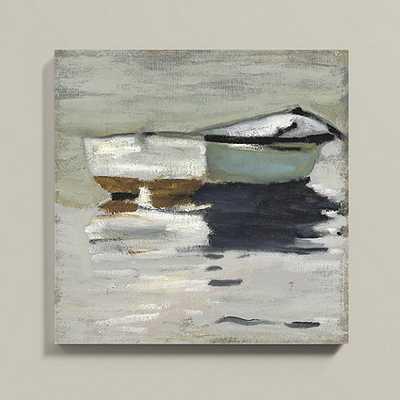 """Big Frog Stretched Canvas - 36""""x36"""" - Unframed - Ballard Designs"""