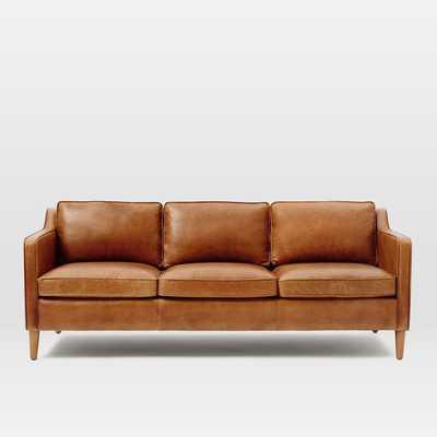 Hamilton Leather Sofa - West Elm