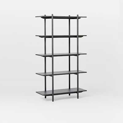 Scaffold Bookshelf - Basalt Gray - West Elm