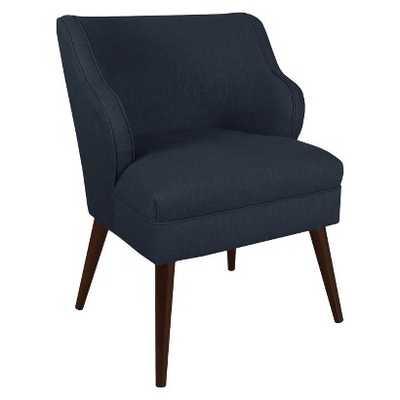 Skyline Custom Upholstered Modern Chair - Linen Navy - Target