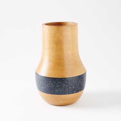 "Speckled Wood Vases -  Medium (10"") - West Elm"