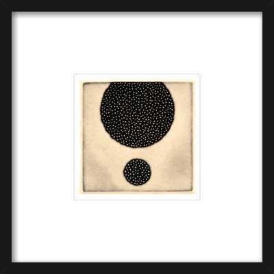 Five Elements - Porous #57 - 8''x8'' - Thin black frame - Artfully Walls