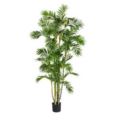 Nearly Natural 6' Areca Palm Silk Tree - Target