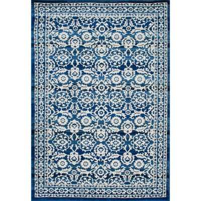 nuLOOM Traditional Persian Vintage Dark Blue Rug (8' x 10') - Overstock