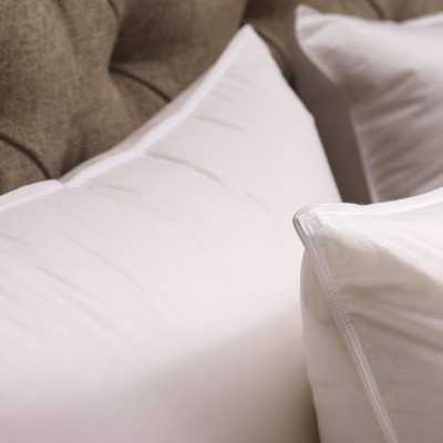 Down Alternative Sleeping Pillow Insert - Queen: Havenly Recommended Basic - Noble Feather Co.