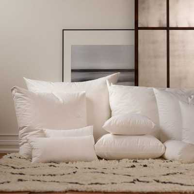 "Havenly Recommended Basic: Down Pillow Insert - 12"" x 16"" - Noble Feather Co."