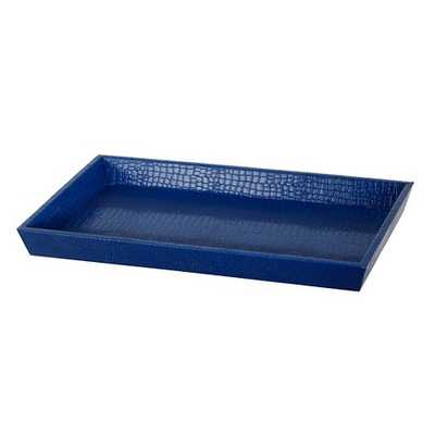 """A&B Home Faux Leather Tray (21X13X2"""") - Target"""