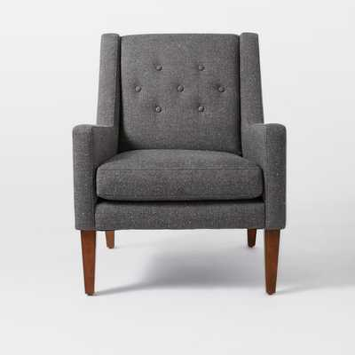 Library Upholstered Chair - West Elm